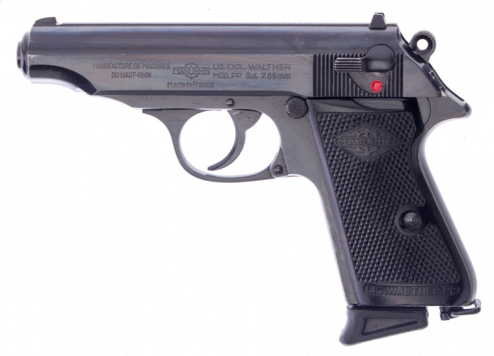 Pistole Manurhin PP 7,65Br.