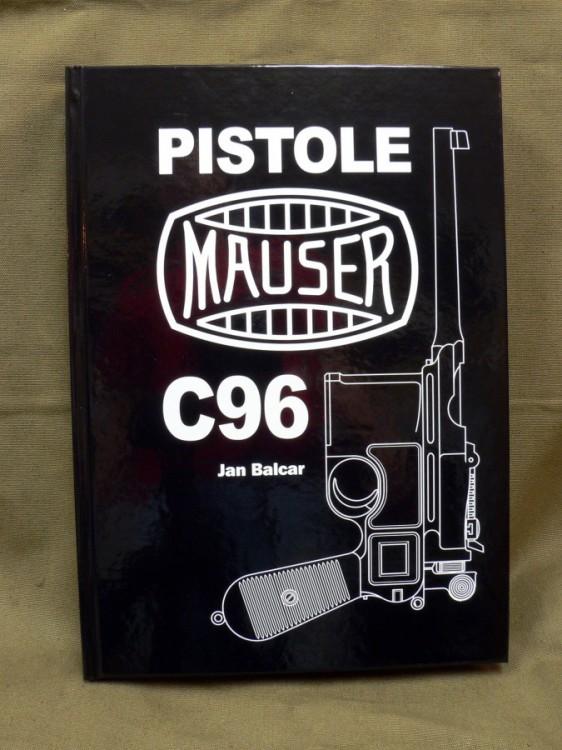 Kniha Pistole C96