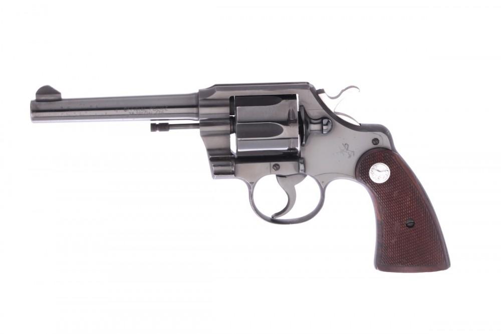 Revolver Colt Official Police č.1