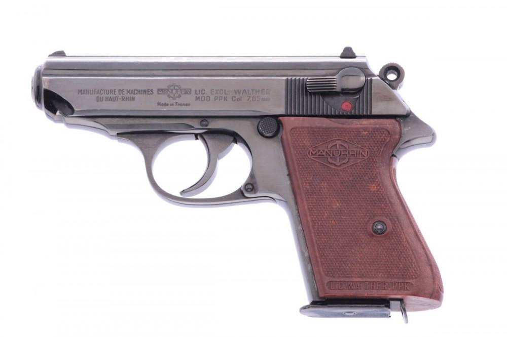 Pistole Manurhin PPK