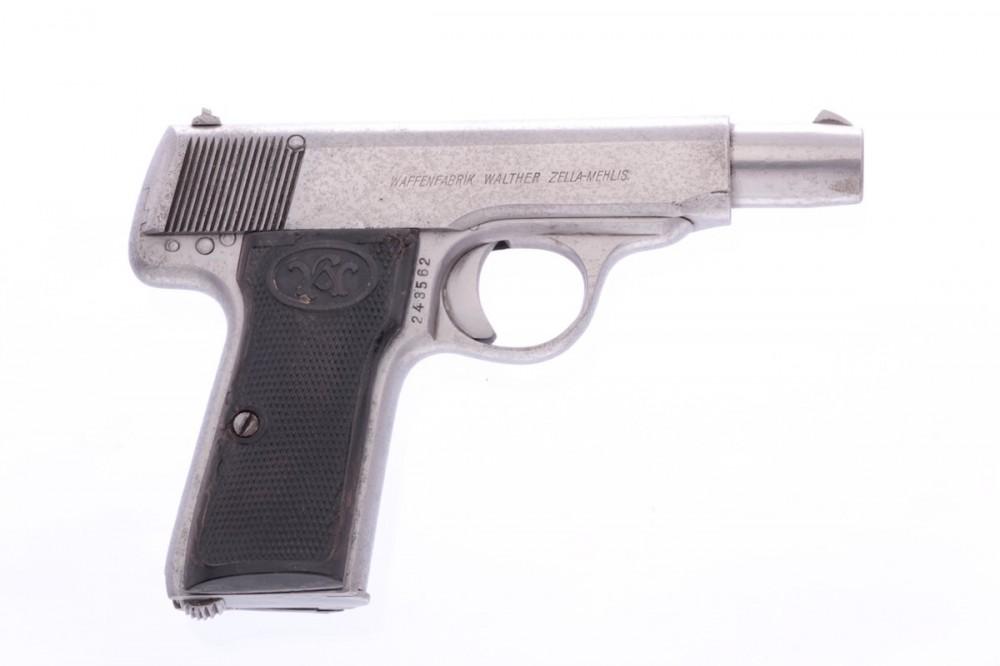 Pistole Walther  mod. 4 7,65Br. č.1