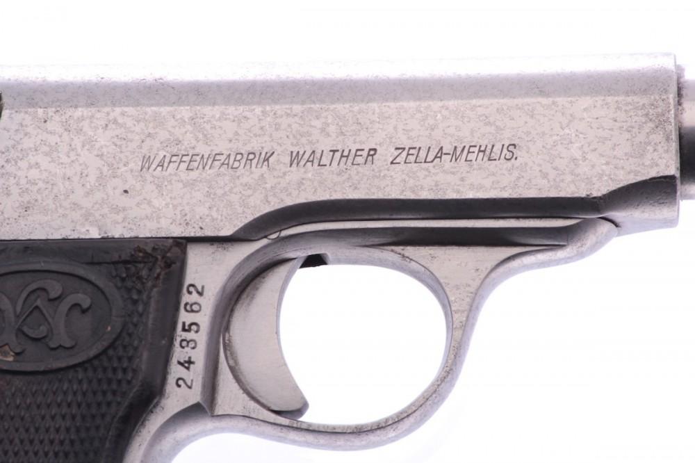 Pistole Walther  mod. 4 7,65Br. č.2