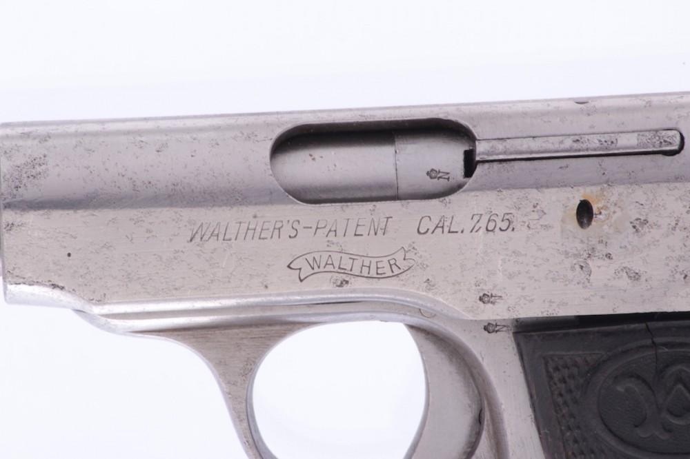 Pistole Walther  mod. 4 7,65Br. č.4
