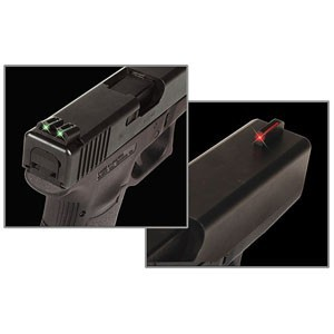 Mířidla Truglo Fiber-Optic pro Glock 42 a 43 - zelená/červená č.1