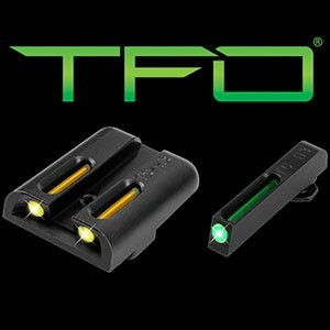 Mířidla Truglo Tritium & Fiber-Optic (TFO) pro Sig Sauer - žlutá/zelená