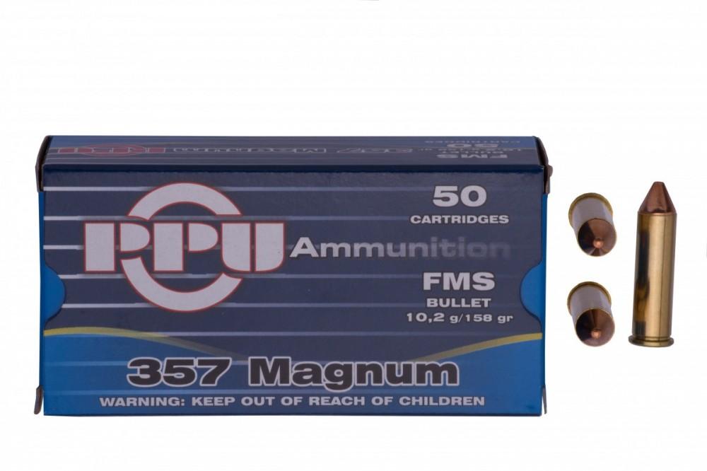 Náboje .357 Mag PPU