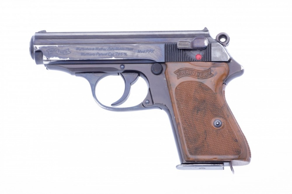 Pistole Walther PPK Alu 7,65Br.