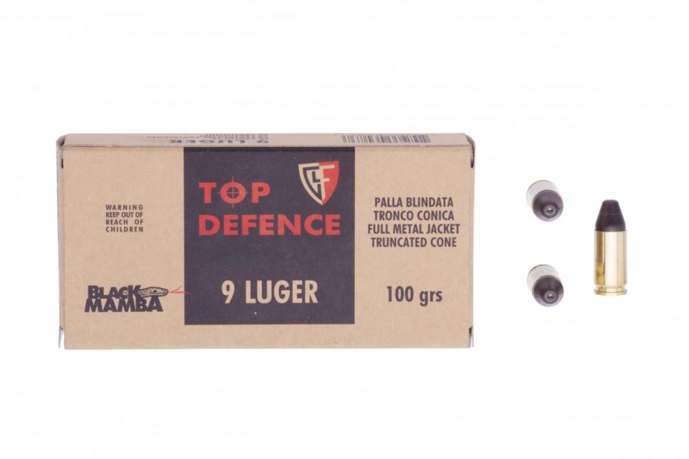 Náboje 9mm Luger Black Mamba Fiocchi