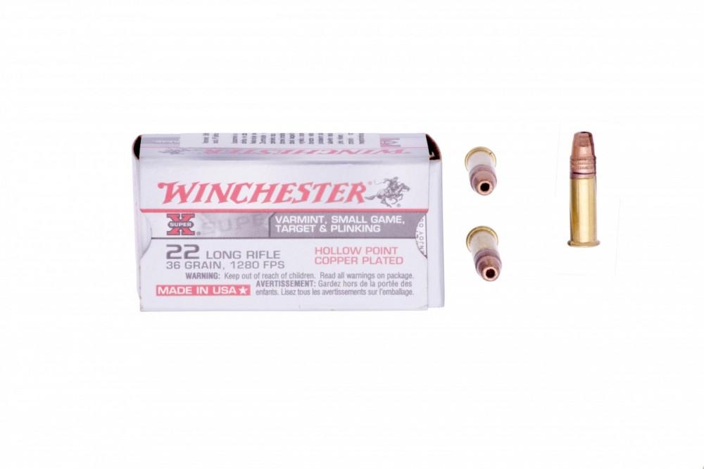 Náboje .22LR Super X HP Winchester
