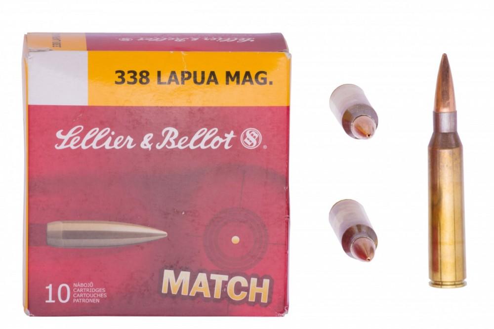 Náboje .338 Lapua Mag. Sellier & Bellot