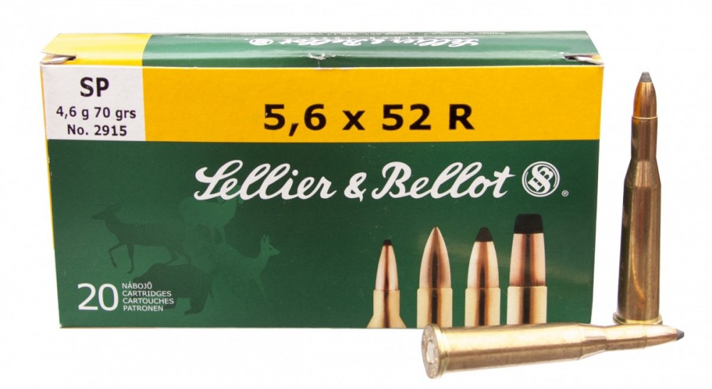 Náboje 5,6x52 R SP Sellier & Bellot
