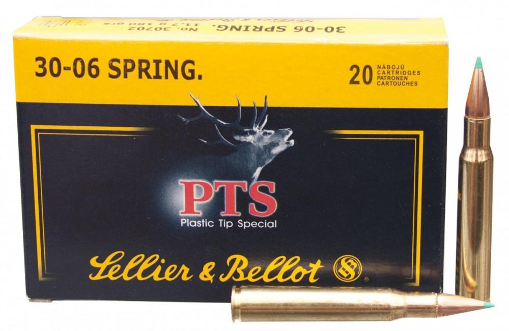 Náboje Sellier Bellot .30-06 Springfield PTS 11,7g