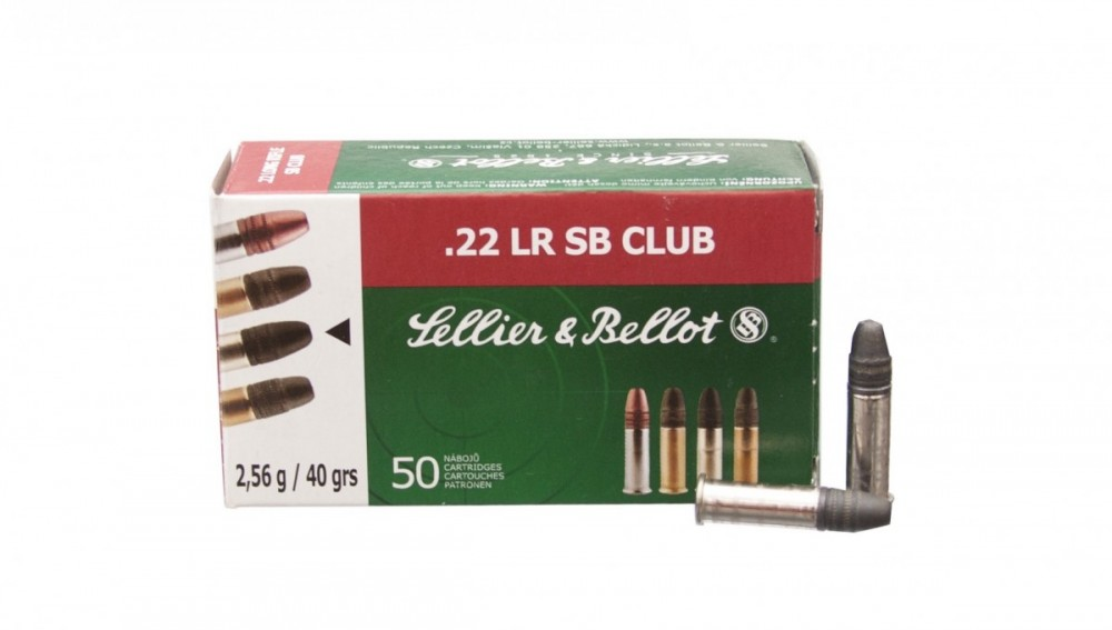 Náboje .22LR Club Sellier & Bellot