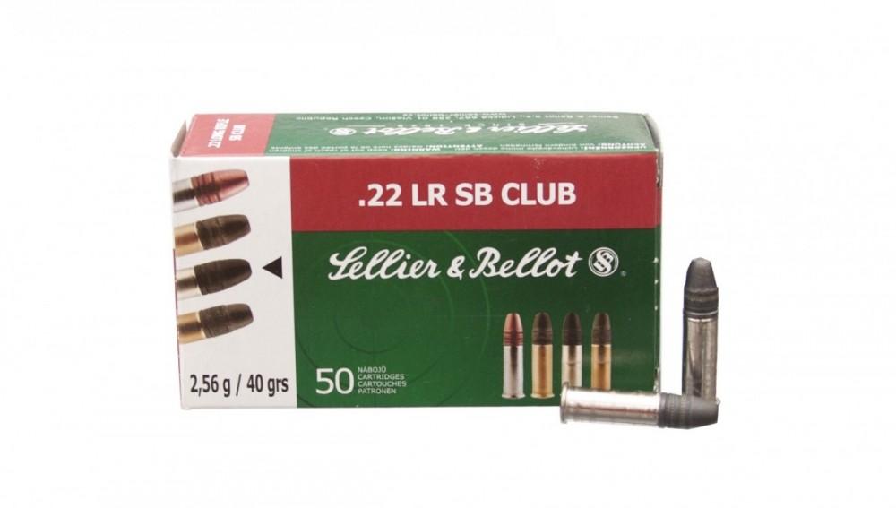 Náboje .22LR Club Sellier & Bellot č.1