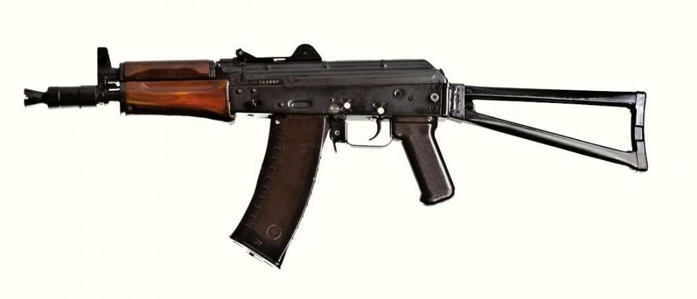 Samonabíjecí puška AKS-74U č.2