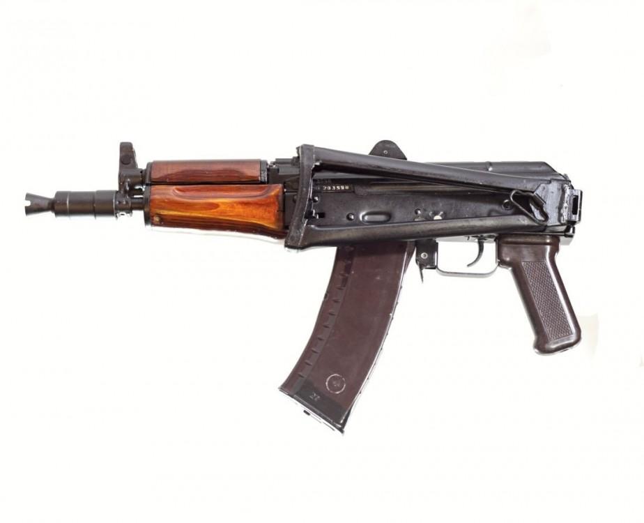 Samonabíjecí puška AKS-74U č.3
