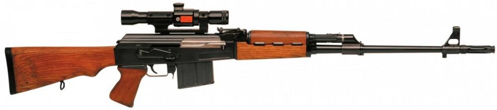 Samonabíjecí puška Zastava M76 8x57JS č.1