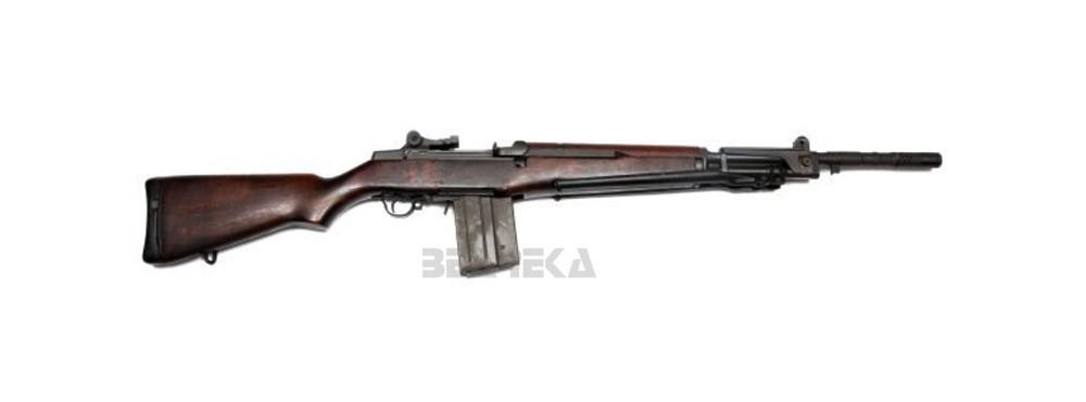 Samonabíjecí puška Beretta BM59 cal.308Win + bajonet a řemen