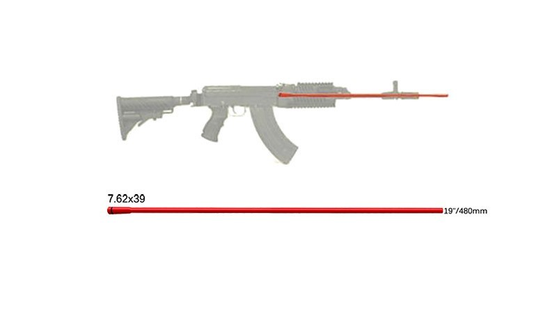 Bezpečnostní No Fire tyčka FabDefense 7,62x39 - délka 48cm