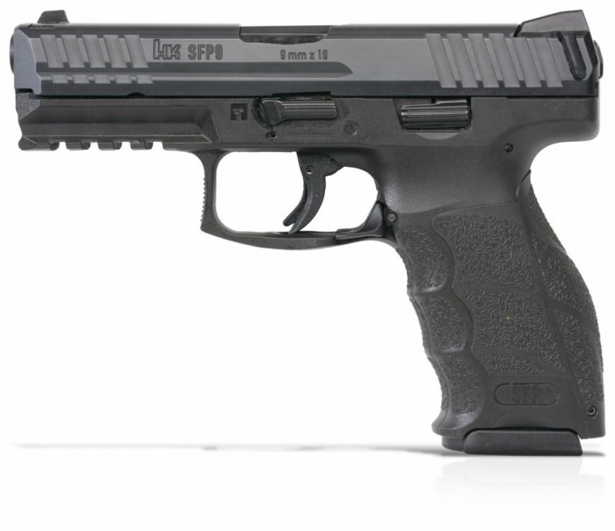 Pistole Heckler & Koch SFP9 barva černá