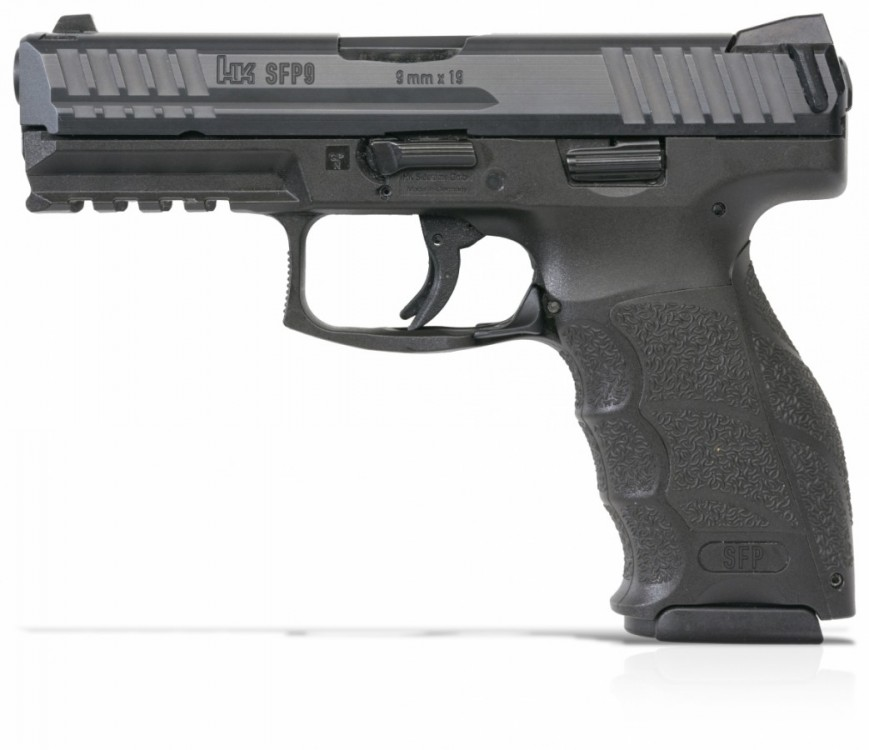 Pistole Heckler & Koch SFP9 barva černá + 50 ks nábojů 9mm Luger S&B zdarma