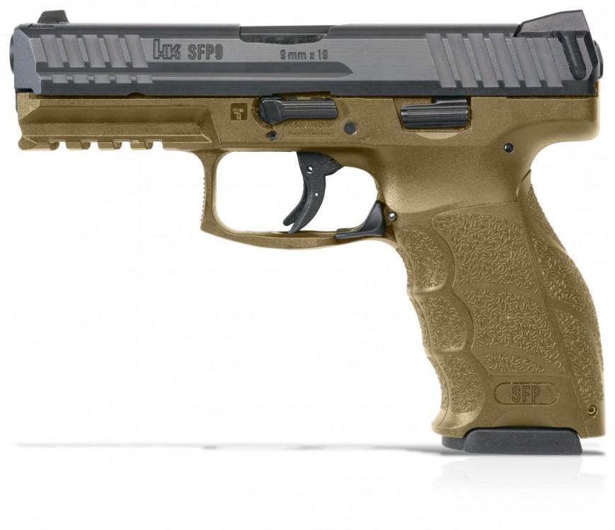 Pistole Heckler & Koch SFP9 barva RAL 8000