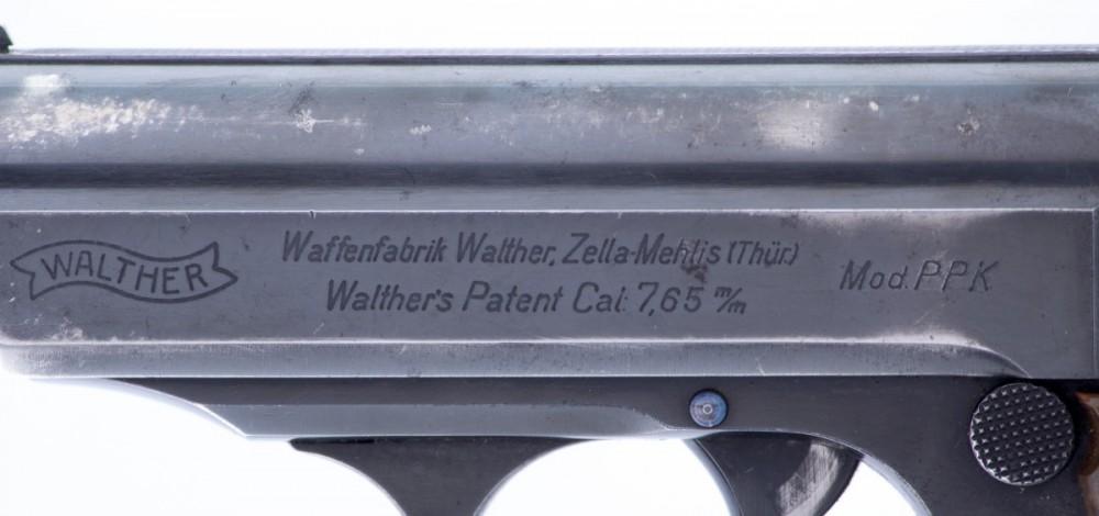 Pistole Walther PPK 7,65Br č.3