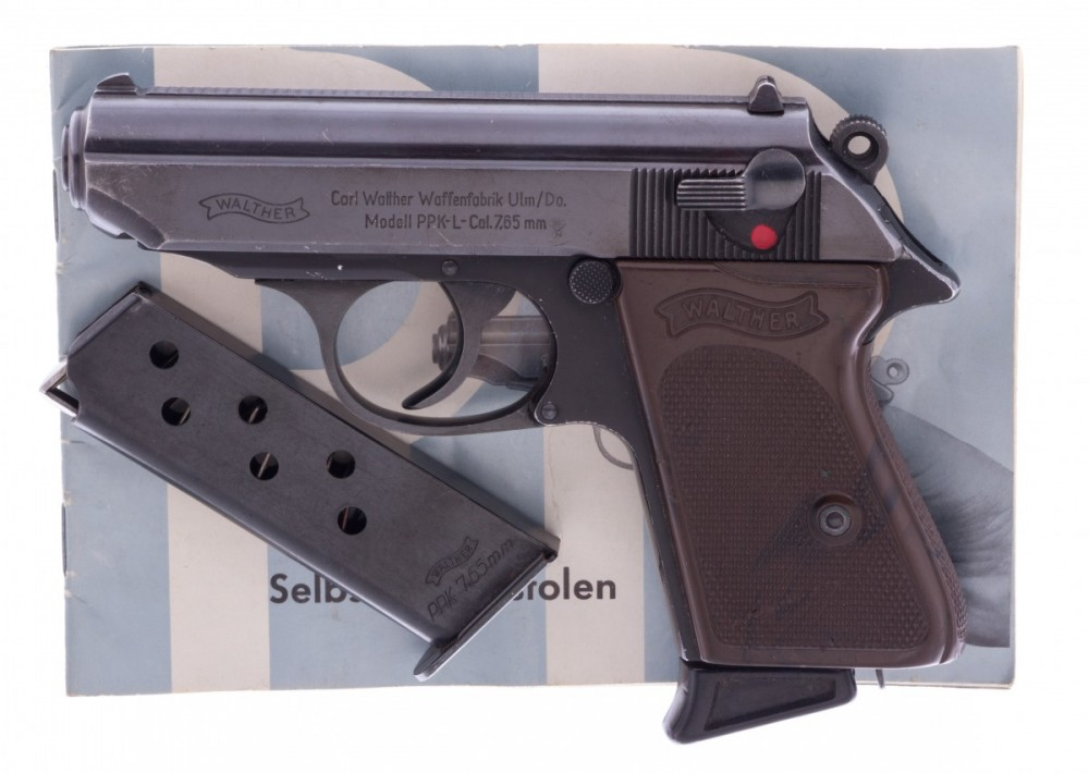 Pistole Walther PPK-L 7,65Br