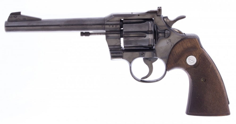 Revolver Colt Officers Model Match