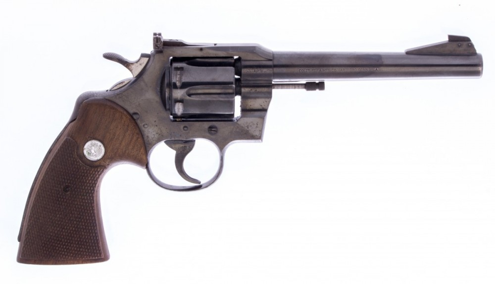 Revolver Colt Officers Model Match č.3