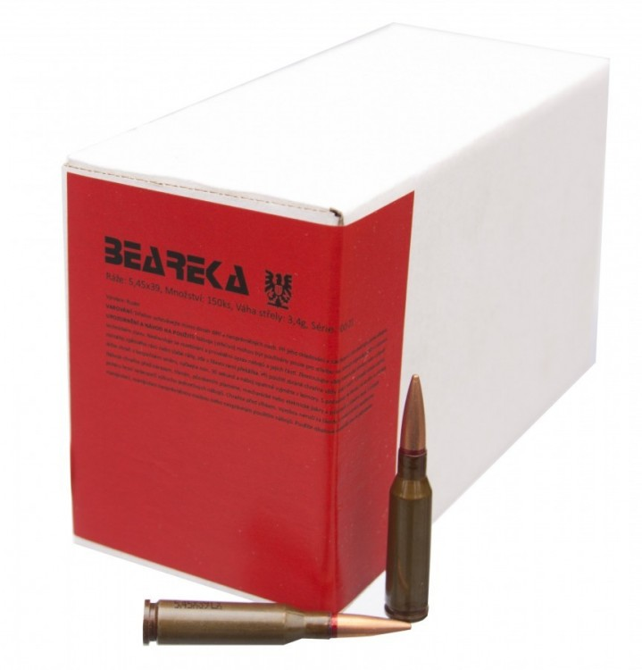 Samonabíjecí puška AKS-74U + náboje 5,45 x 39, 1 000 ks č.2