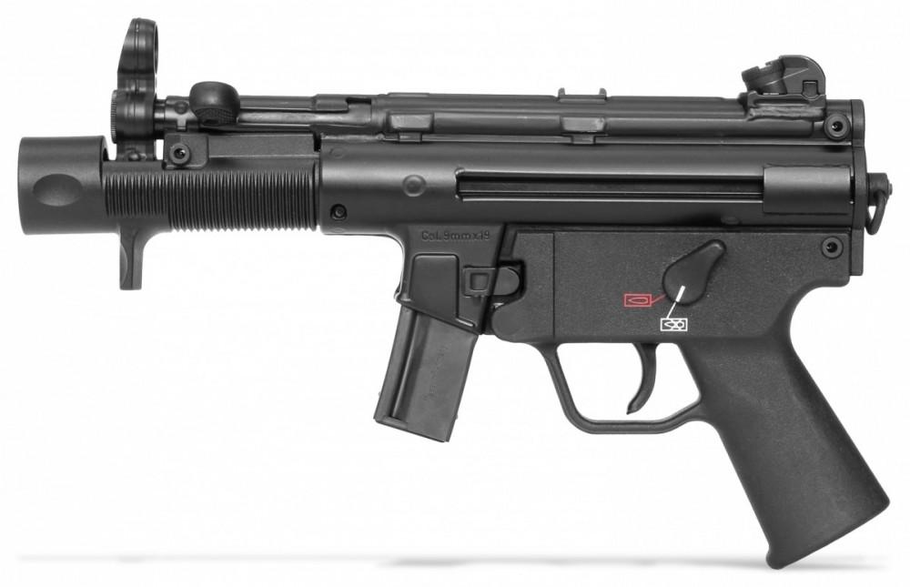 Samonabíjecí pistole Heckler & Koch SP5K (MP5K, Německo) bez pažby - Předobjednávka