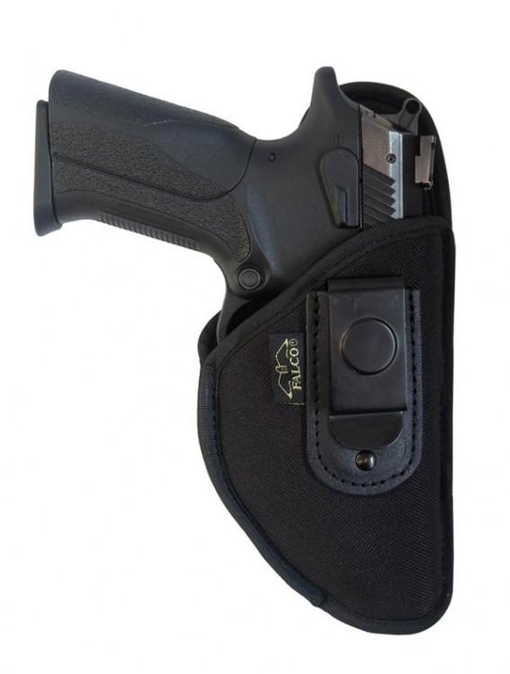 Pouzdro pro skryté nošení zbraně s ocelovou sponou Beretta 85 č.1