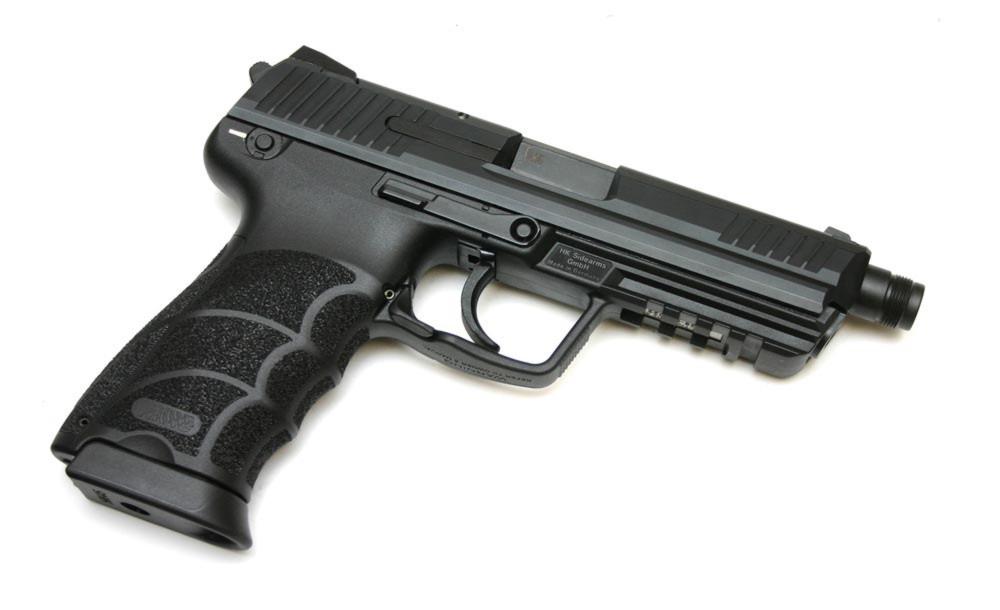 Pistole Heckler & Koch P30 V1 se závitem