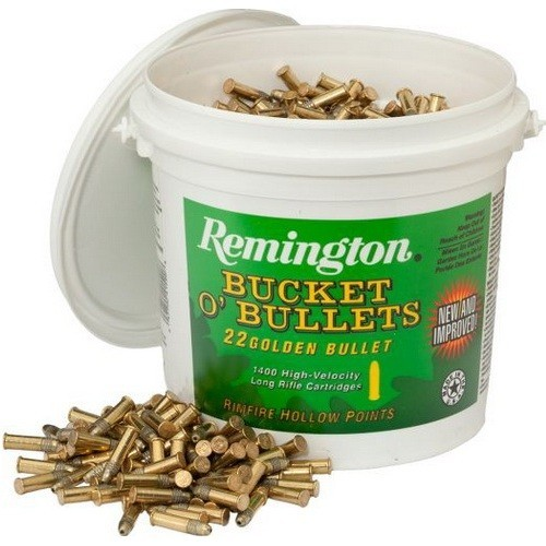 Náboje .22 LR HV HP Golden Bullet Remington 36gr - 1400 ks v balení
