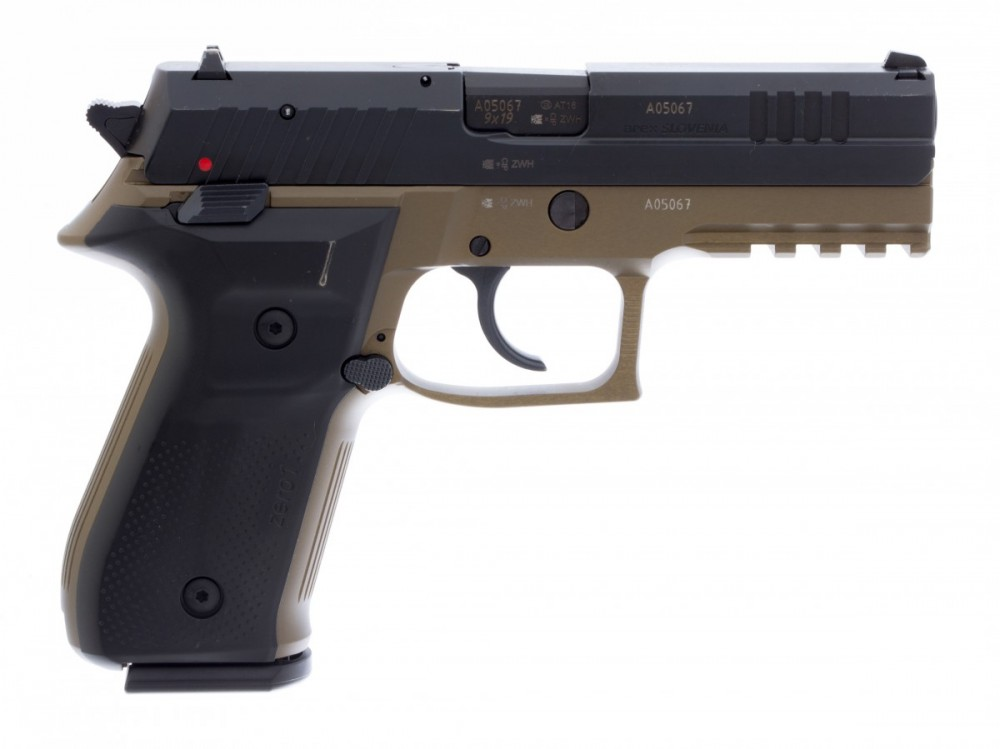 Pistole REX Zero 1 barva hnědá č.2