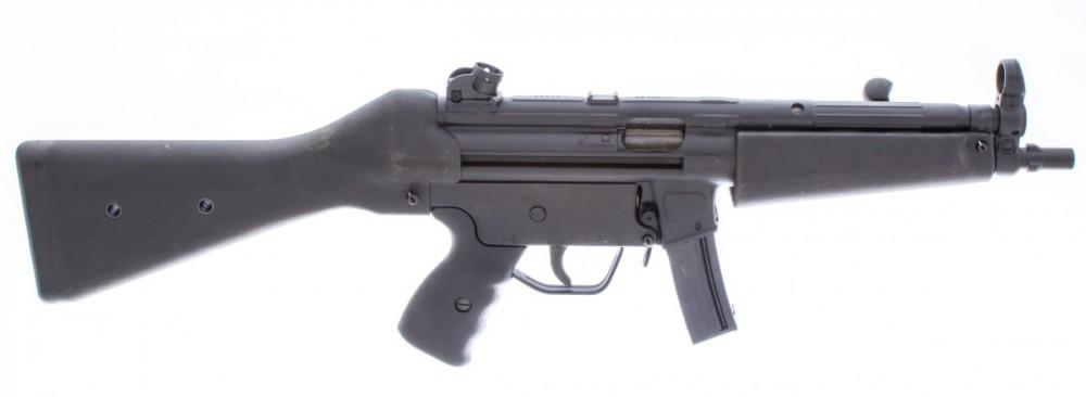 Samonabíjecí puška LDT HSG94 (MP5) Lucembursko, pevná pažba