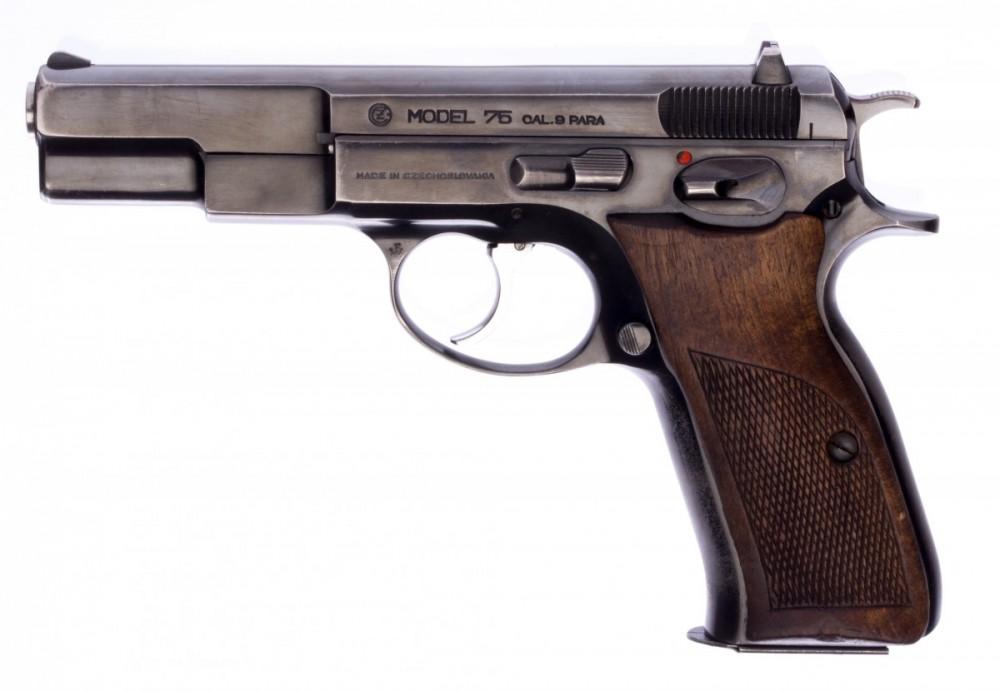 Pistole ČZ vz. 75 1. série