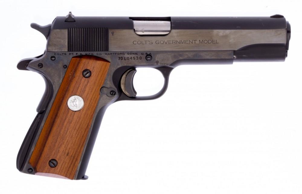 Pistole Colt 1911 Government Mark IV Series 70's č.2