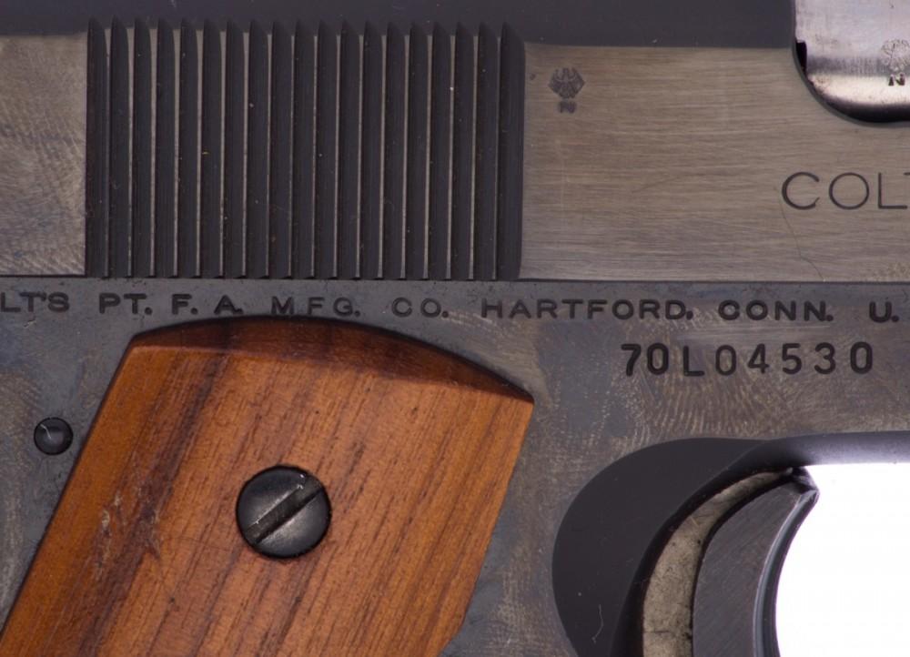 Pistole Colt 1911 Government Mark IV Series 70's č.3