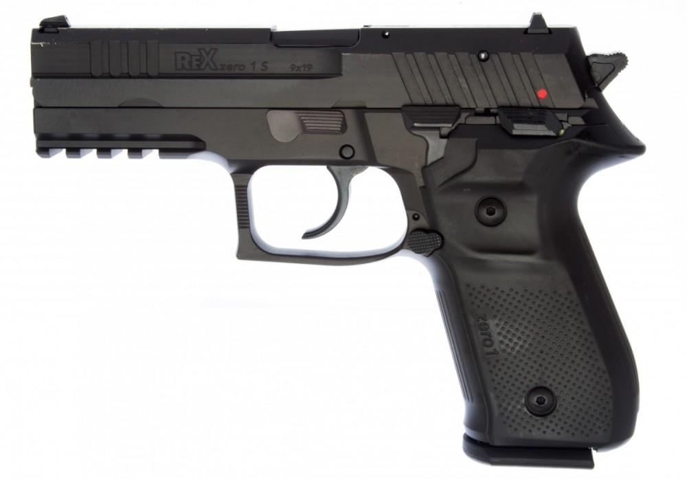 Pistole REX Zero 1 barva černá