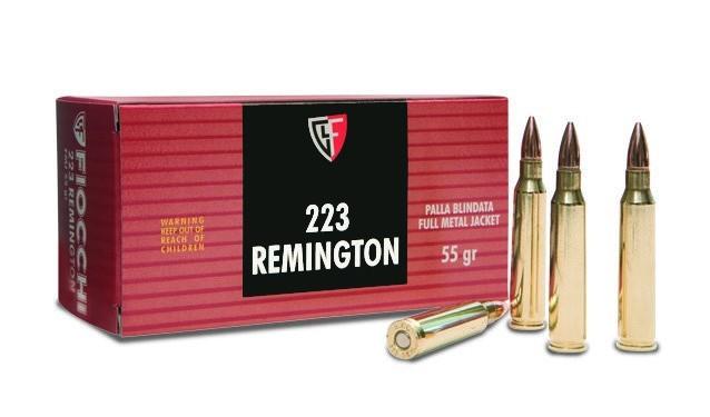Náboje .223 Remington Fiocchi 55gr
