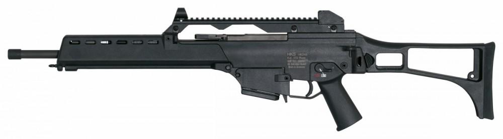 Samonabíjecí puška Heckler & Koch HK243 S SAR černá