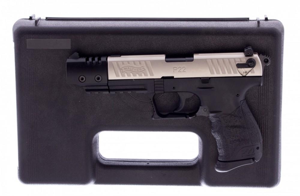"""Pistole Walther P22Q Target, 22LR, hlaveň 5"""", nerez závěr"""