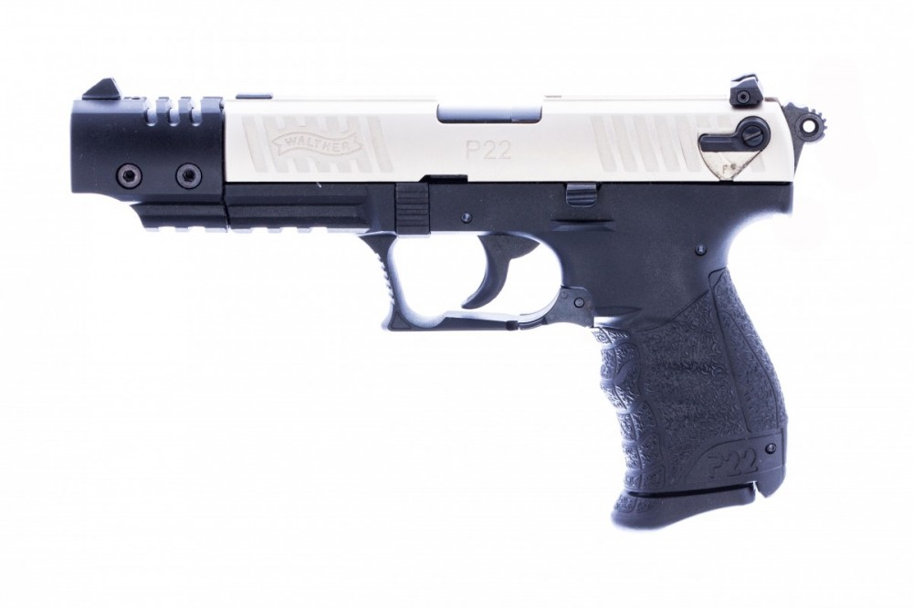 Pistole Walther P22Q Target, 22LR, hlaveň 5