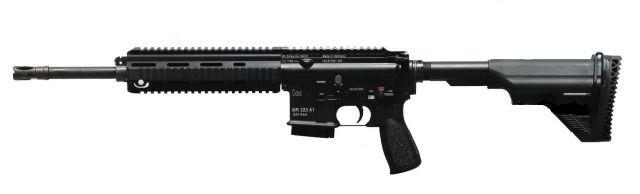 Samonabíjecí puška Heckler & Koch MR223 A1, 16,5