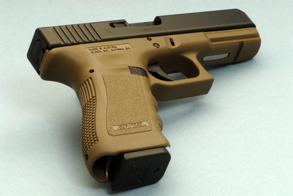 Pistole Glock 19 3.GEN olive