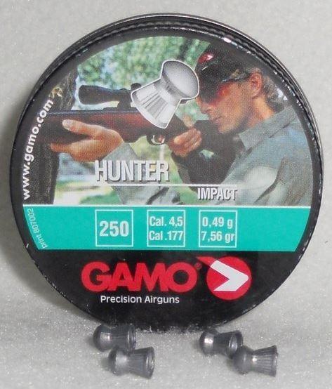 Diabolky Gamo Hunter 4,5mm 250 kusů