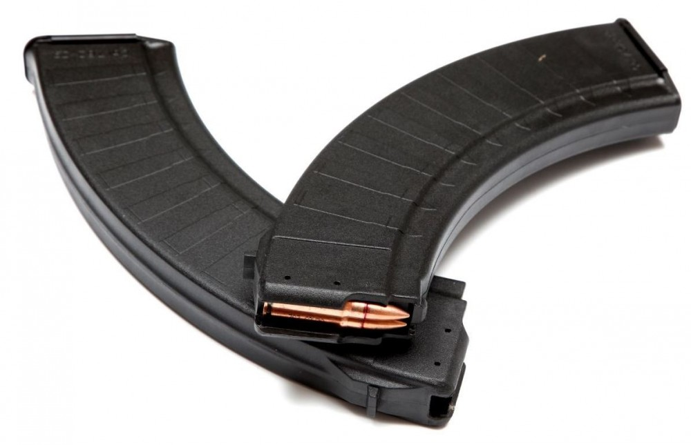 zásobník AK-47 40 ran 7,62 x 39 - černý polymerový  Polymag
