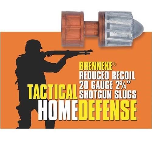 Náboje Brenneke Tactical Homedefense Slug 12/70 balení 5ks